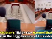 Pak Tik Tok star Hareem Shah in a soup after posting this video