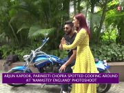 Parineeti Chopra, Arjun Kapoor goofing around
