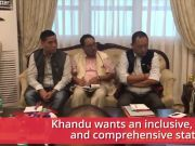 Pema Khandu holds open house budget consultations in Arunachal