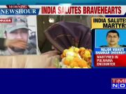 People pay tribute to Major Vibhuti Shankar Dhoundiyal martyred in Pulwama encounter