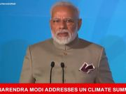 PM Modi addresses UN Climate Summit
