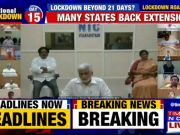 PM Modi chairs a key meeting with opposition leaders amid Covid-19