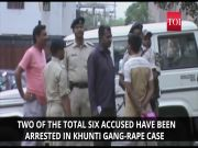 Police arrest two accused in Khunti gang-rape case