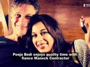 Pooja Bedi's 'double masti with fiance' Maneck Contractor in Goa is giving us major vacay vibes