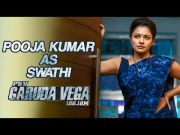 Pooja Kumar as Swathi | Character Intro | Garuda Vega Movie | Praveen Sattaru