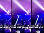 Post ban, Mika Singh chants 'Bharat mata ki jai' at Wagah, shares video on social media