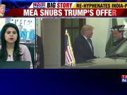 President Donald Trump offers to 'mediate' between India, Pakistan on Kashmir, MEA snubs offer