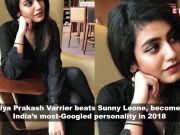 Priya Prakash Varrier beats Sunny Leone; Lata Mangeshkar on rumours about ill health, and more