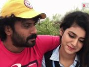 Priya Prakash Varrier shares a kiss with a twist with cinematographer Sinu Siddharth