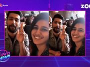 Priya Varrier and Vicky Kaushal recreate the 'finger-gun kiss' moment