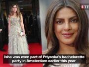 Priyanka Chopra to perform at Isha Ambani and Anand Piramal's sangeet ceremony in December 2018?