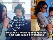 Priyanka Chopra's precious moments with niece Sky Krishna are adorable beyond words!