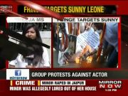 Pro-Kannada activists protest against Sunny Leone's New Year event in Bengaluru