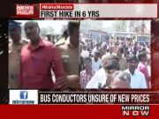 Protests across state as TN govt raises bus fares
