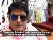 Pulwama terror attack: Producer Ashoke Pandit 'requests' Salman Khan to act against Kapil Sharma