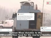 Pulwama terror attack: Salman Khan contributes to #BharatKeVeer fund for the martyrs' families