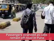 Pune: Commuters stranded as cab driver's strike continues for second consecutive day