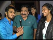 P.V Sindhu Watches Ekkadiki Potavu Chinnavada Movie