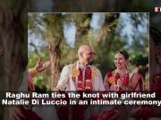 Raghu Ram of 'Roadies' ties the knot with girlfriend Natalie Di Luccio
