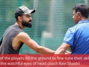 Rahul Dravid spends time with Indian players ahead of 3rd T20I