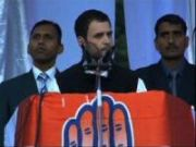 Rahul Gandhi slams BJP for opposing FDI in retail