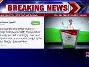 Rahul Gandhi targets govt over pendency of court cases, law minister Ravi Shankar Prasad hits back