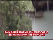 Rain with hailstorm lash Mussoorie, influx of tourists likely to increase