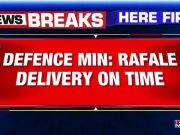 Rajnath Singh's tweet confirms Rafale delivery on time