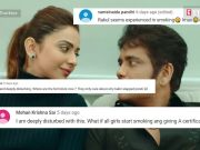 Rakul Preet reacts to trolls who slammed her for smoking scene in 'Manmadhudu 2'