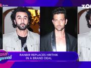 Ranbir Kapoor replaces Hrithik Roshan in a brand deal