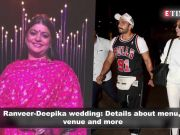 Ranveer-Deepika's wedding details out; Sara steals the show at 'Kedarnath' trailer launch, and more…