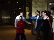 Ranveer Singh and Deepika Padukone spotted at a wedding in Mumbai