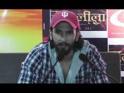 Ranveer Singh promotes his upcoming film 'Goliyon Ki Raasleela Ram-leela' in Patna