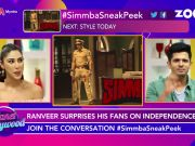Ranveer Singh shares first sneak peek of 'Simmba'