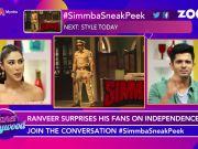 Ranveer Singh shares first sneak peek of 'Simmba'
