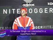 Ranveer SinghIs Ranveer Singh not interested in superhero film?