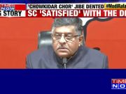 Ravi Shankar Prasad slams Rahul Gandhi, says SC's Rafale verdict exposed his lies