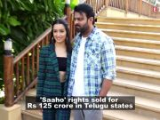 Rights of Prabhas and Shraddha Kapoor-starrer 'Saaho' sold for Rs 125 crore in South, beats 'Baahubali'