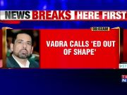 Robert Vadra takes a jibe at Enforcement Directorate