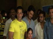 Salman, Govinda at 'Yellow' screening