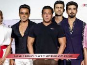 Salman Khan's 'Race 3' mints Rs 63.75 crore