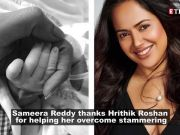 Sameera Reddy reveals she had speech issues and Hrithik Roshan helped her overcome it