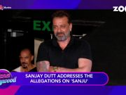 Sanjay Dutt breaks his silence over allegations on 'Sanju'