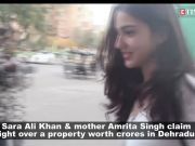 Sara Ali Khan and mother Amrita Singh claim right over a property in Dehradun after uncle's death