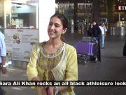 Sara Ali Khan rocks this all black athleisure look; Lara Dutta shares gem of a throwback pic with Dia Mirza, Priyanka Chopra, and more…