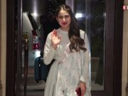Sara Ali Khan spotted at the gym, looks super-fit