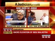 SC collegium row: Ram Jethmalani urges CJI to step in and resolve the matter internally