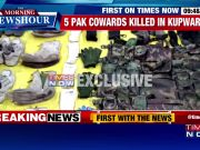 Security forces recover huge cache of arms and ammunition from Kupwara encounter site