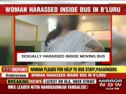 Senior citizen harasses woman onboard Bengaluru bus