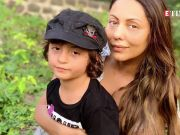 Shah Rukh Khan and Gauri Khan's darling children Aryan Khan, Suhana Khan and AbRam Khan clicked in one frame
